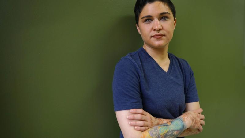 CV Vitolo-Haddad is a University of Wisconsin-Madison doctoral student whose blog post about another graduate student's alleged history of racist and anti-Semitic messaging prompted the end of that student's teaching position.